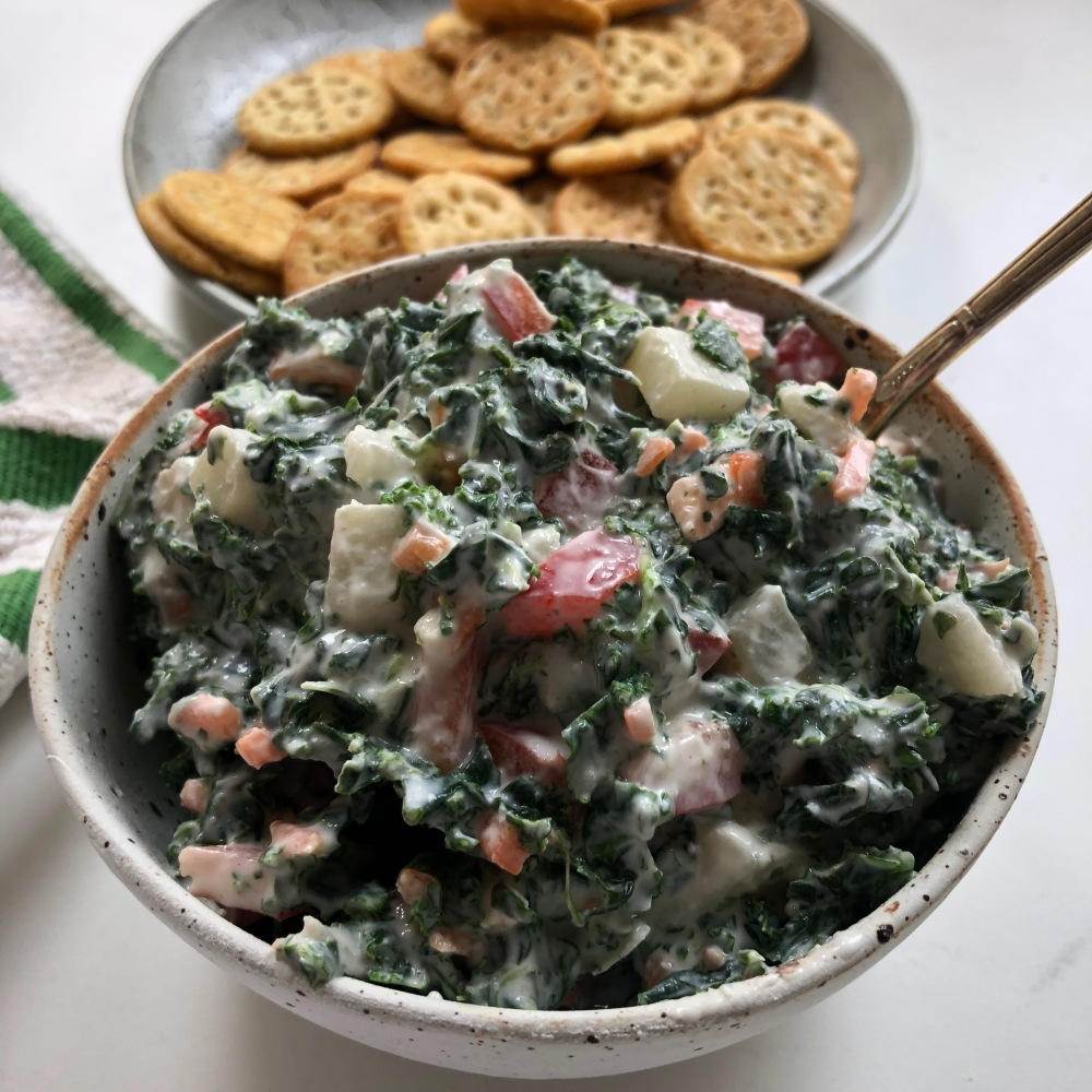 Spinach-and-kale-dip